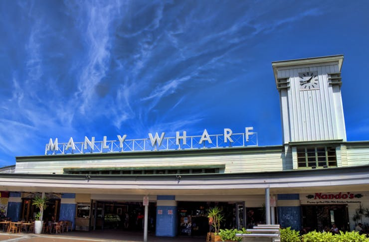 Manly Wharf Makeover Sydney