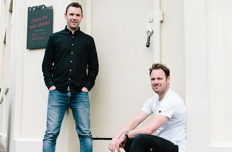 Mark Neal and Daniel McLaughlin