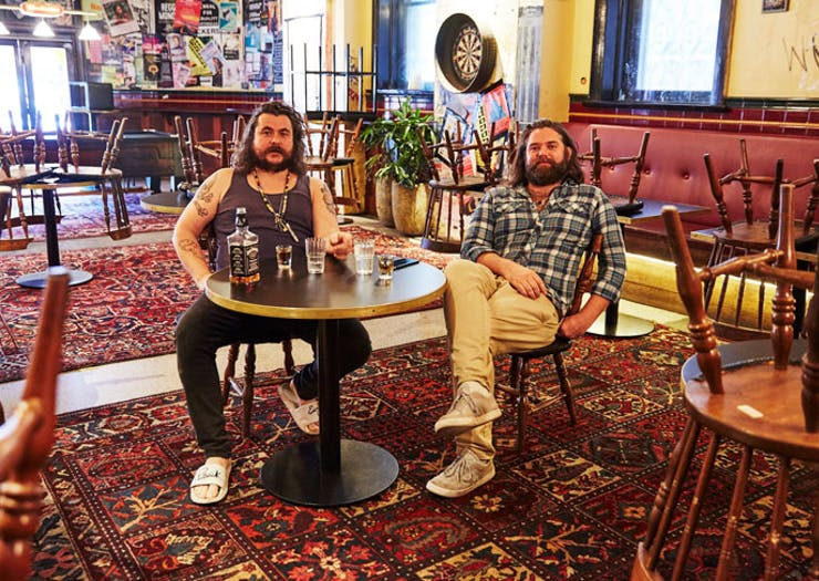 Mary's founders Jake Smyth and Kenny Graham.