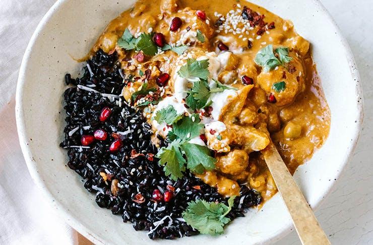 a healthy food bowl