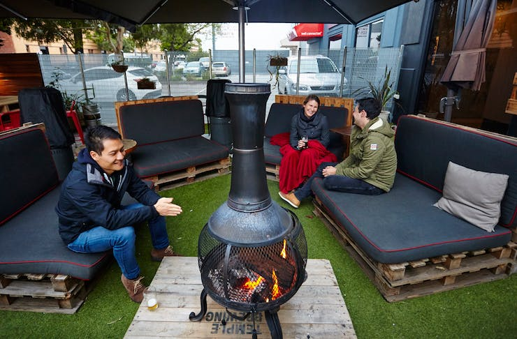 melbourne beer gardens for winter