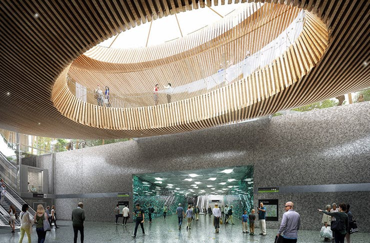 You Ll Able To Tour The New Underground Metro Tunnels Next