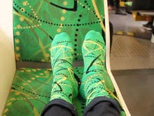 Style Up Your Isolation With These Socks That Match Melbourne's Trams