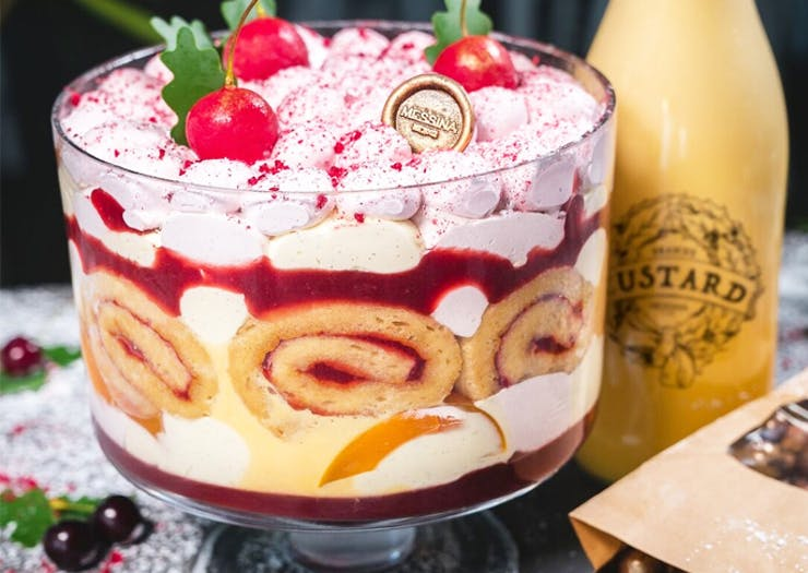 Messina Is Dropping A Christmas Gelato Trifle & Our Bodies Are Ready