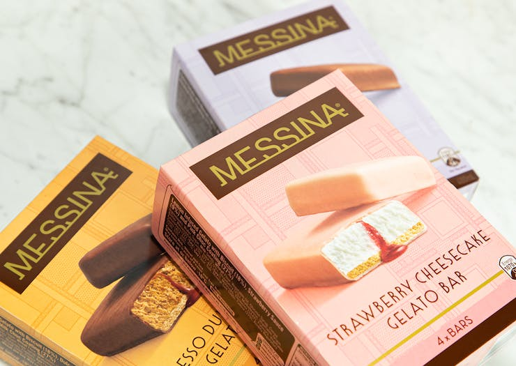 Make Some Room In Your Basket For Messina's New Gelato Bars
