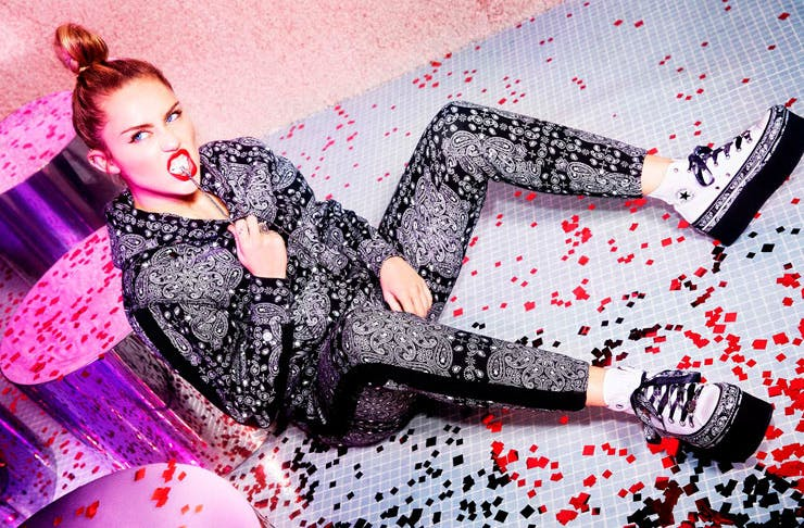 Miley Cyrus Just Launched A New Converse Collection  be5f239da