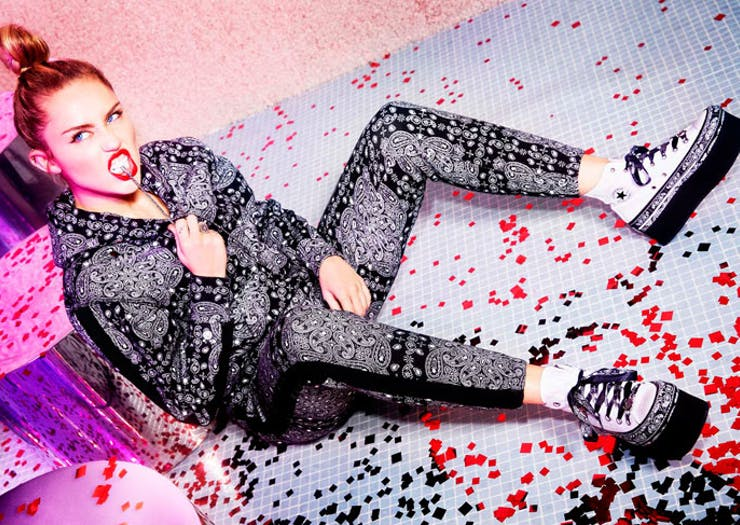 Miley Cyrus Just Launched A New Converse Collection