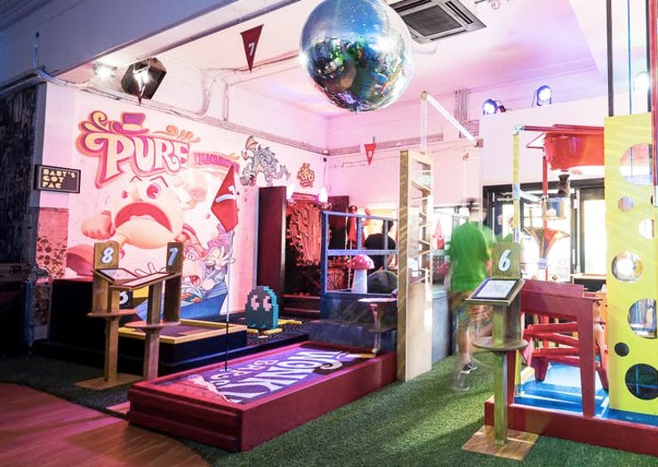 It's Par-Tee Time | Where To Play Mini Golf In Sydney
