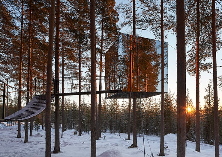 Start Saving, Sweden's Mirror Cube Hotel Is The Ultimate After-Iso Destination