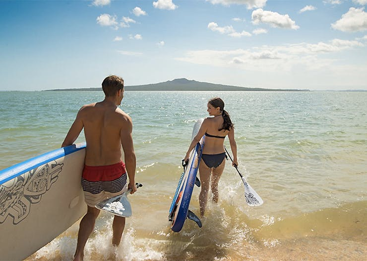Grab Your Board, Here Are The Best Stand Up Paddle Boarding Spots In Auckland