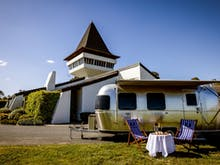 Escape The City At Mitchelton Estate's New Airstream Hotel