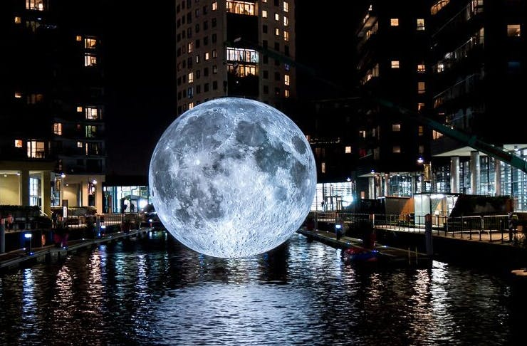 """Résultat de recherche d'images pour """"Museum of the Moon melbourne"""""""