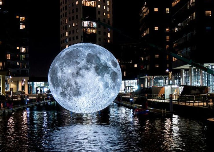 Museum Of The Moon's Giant Moon Installation Is Coming To Australia