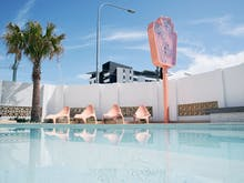 Take A Trip Back In Time At Palm Beach's New Sustainable Retro Motel