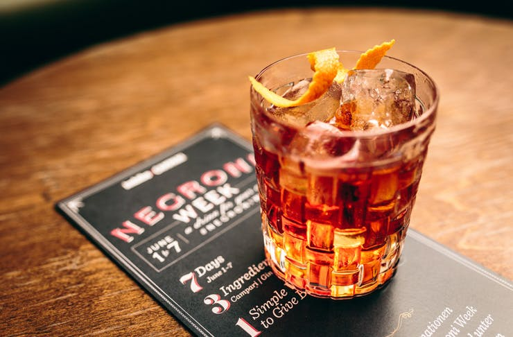 Negroni week Melbourne