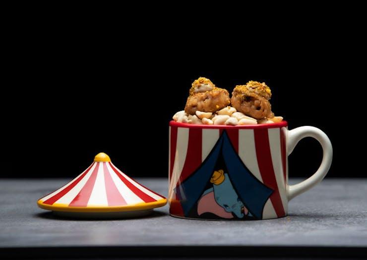 The Dumbo-inspired dish from Sydney restaurant nel.'s Disney degustation.