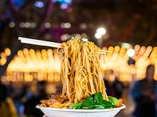 Prepare Your Tastebuds, The Night Noodle Markets Are Back