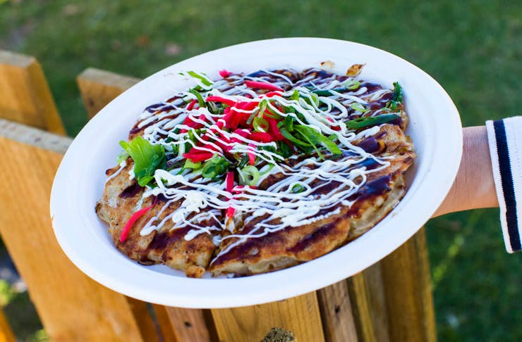 A dish from the Night Noodle Markets in Sydney.