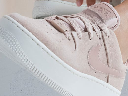 the latest 2b7ff 15387 Nike's New Female-Designed Air Force 1s Are Landing This ...