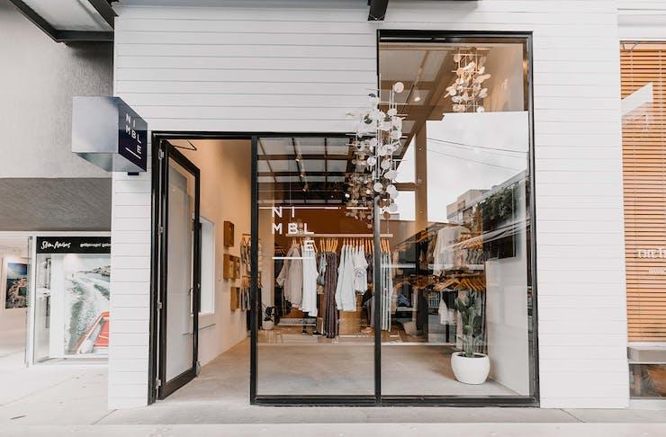 exterior of nimble store