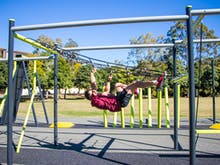 Test Your Skills On The Free Outdoor Ninja Warrior Course That Just Hit Brisbane