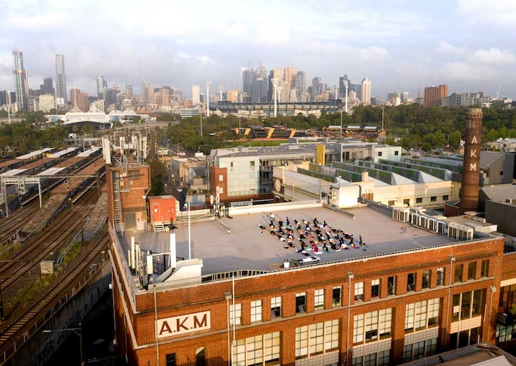 Take It Up A Level At Melbourne's Epic New Rooftop Training Sessions