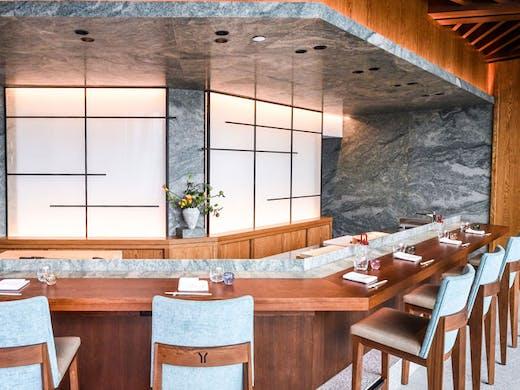 The bar at Nobu Sydney