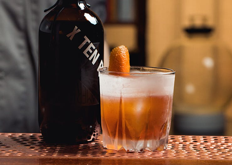 Bar Americano Just Dropped A New Bottled Old Fashioned
