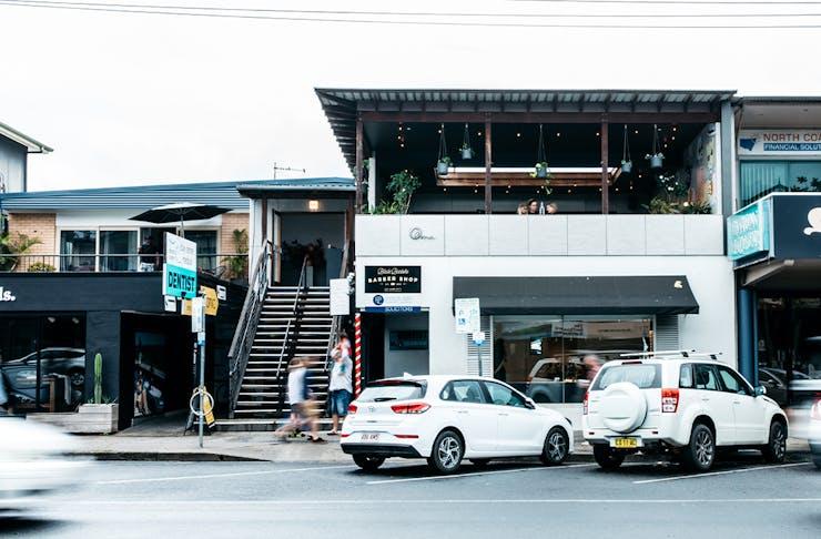 front facade of oma
