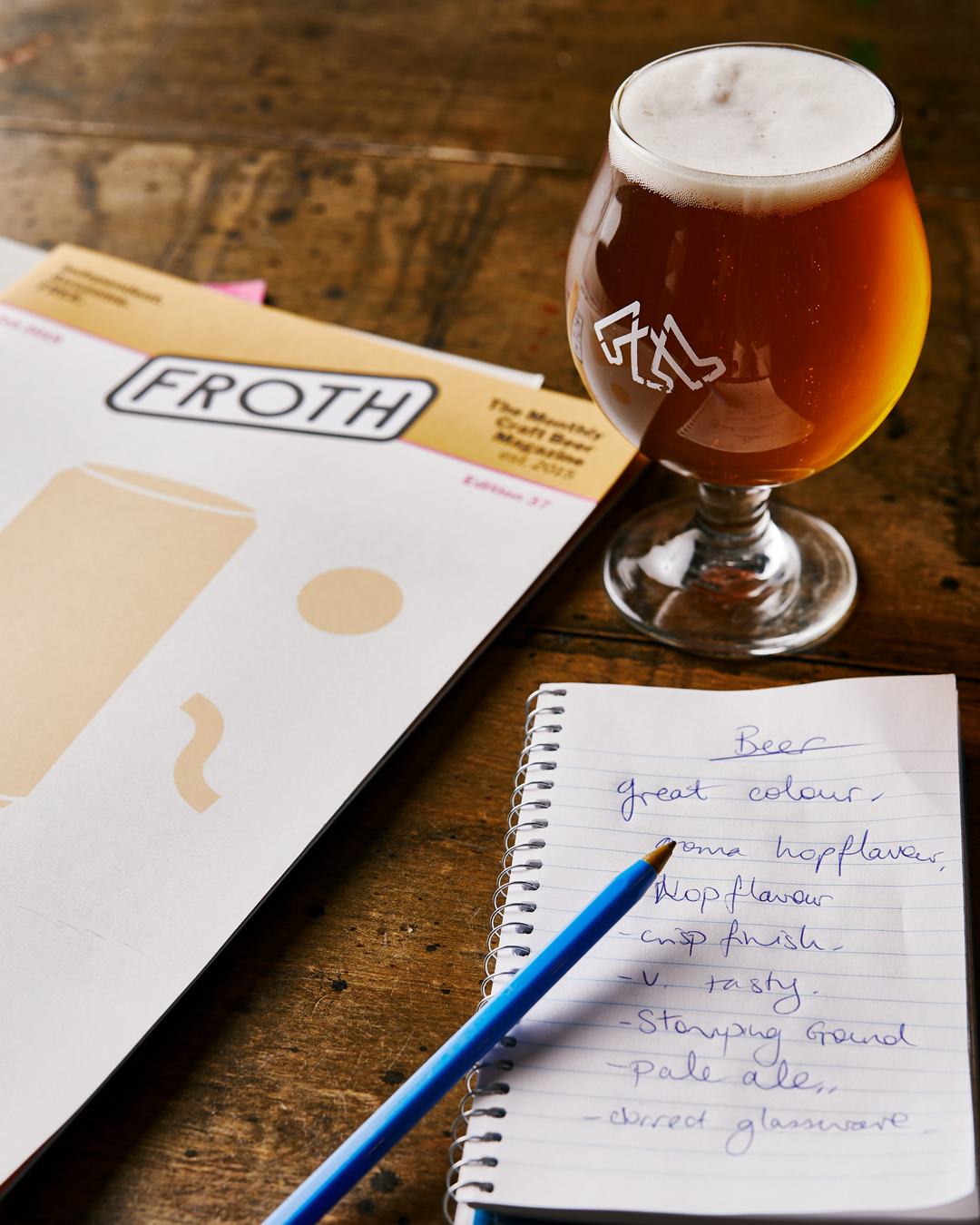 froth beer magazine