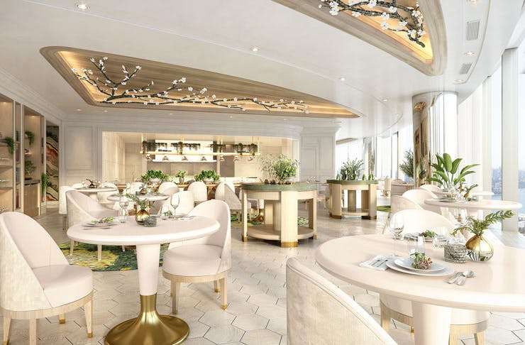 An artist's impression of Oncore by Clare Smyth in Sydney.