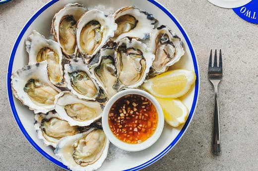 Knock Back Bulk Oysters At This Six Course Oyster Feast