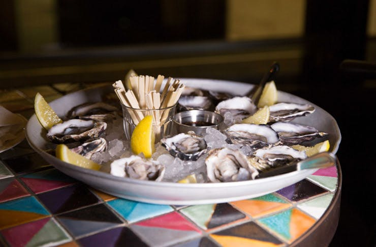 oyster festival at the morrison