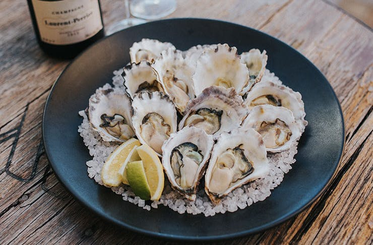 Brouhaha oyster Sunday