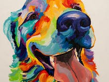 This Paint-Your-Own-Pet Sip & Paint Night Is ALL Of The Feels