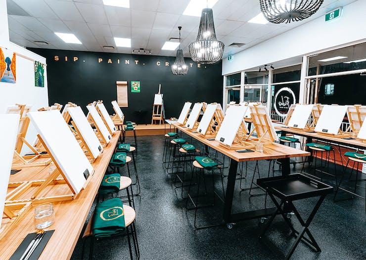 8 Of Brisbane's Best Paint And Sip Classes