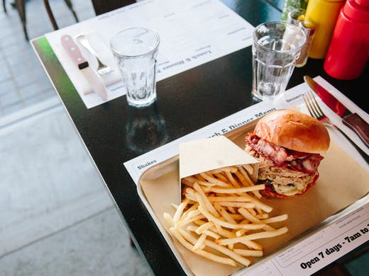 best burgers in Sydney paradise road diner