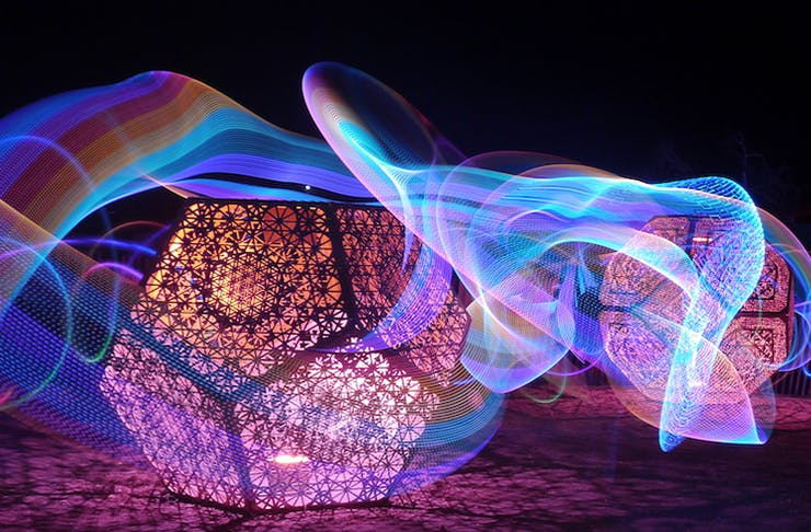 Auckland light festivals
