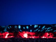 An Incredible Light Festival Is Popping Up In The Middle Of The NT Desert!