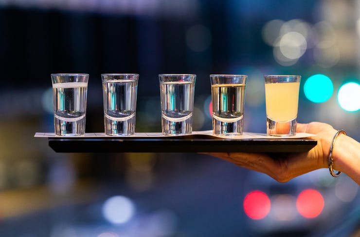 Perth food news - Japanese Sake Tasting Board