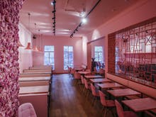 Pink. The Restaurant