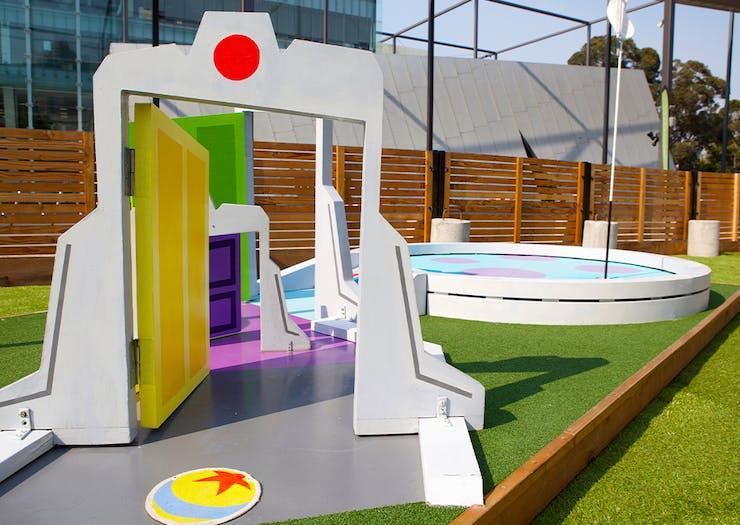 Cue The Nostalgia, Pixar-Themed Putt Putt Is Hitting Brisbane This Summer