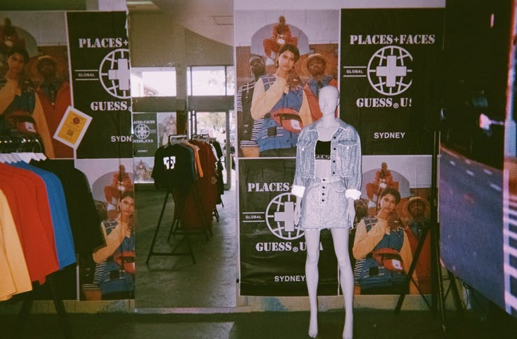 Places + Faces x GUESS Jeans U.S.A. pop up | Urban List