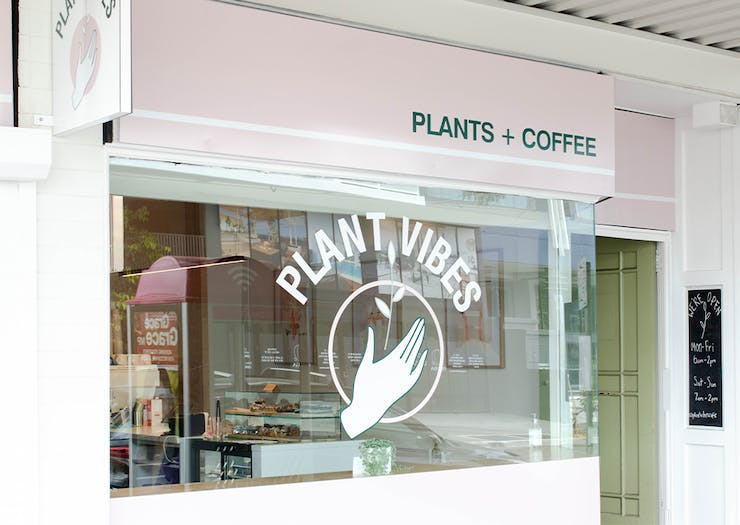 the front of plant vibes cafe