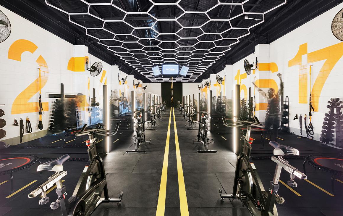 interior of pod1um gym