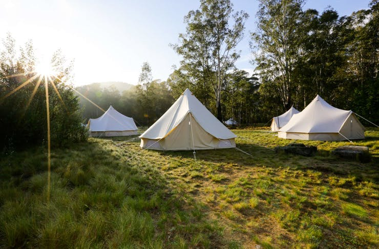 What You Need To Know About An Incredible New Glamping Ground Coming To The Coast