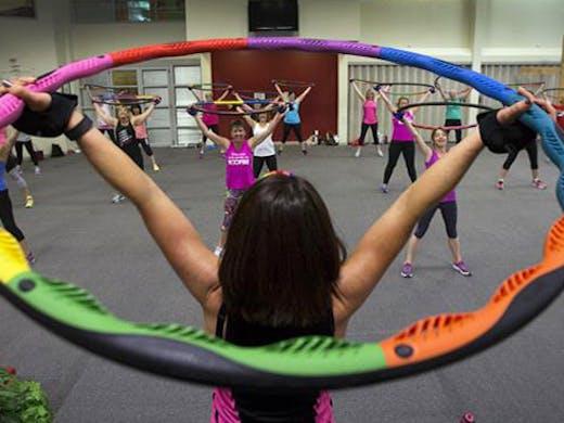 Powerhoop Auckland, Fitness Auckland, hula hoop auckland, fun fitness class auckland