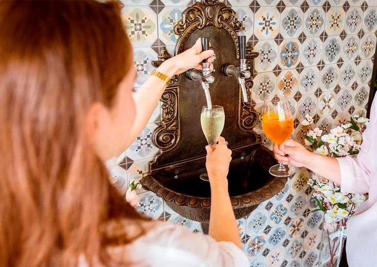 Raise Your Glass, A Bottomless Prosecco Fountain Has Arrived In Paddington