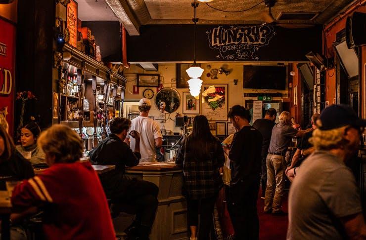The bar at Pub Life Kitchen