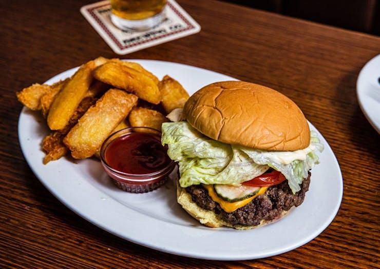 The OG Burger at Pub Life Kitchen